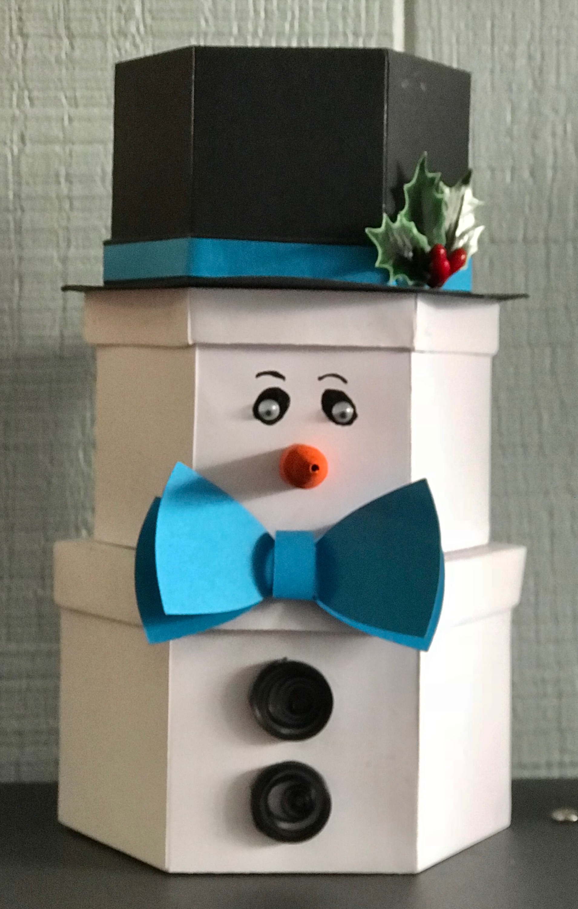 Stacking Snowman Gift Boxes